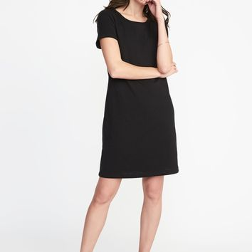 Slub-Knit Tee Dress for Women | Old Navy
