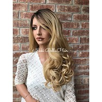 Mickey Blonde Blended Hair Lace Front Wig 22""