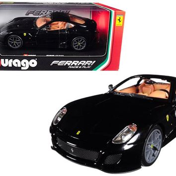 Ferrari 599 GTO Black 1:24 Diecast Model Car by Bburago