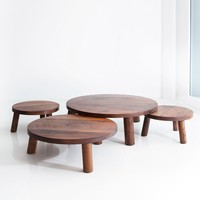 Walnut Trifecta Table