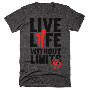 Live Life Without Limits Unisex Tee - BYFB Clothing