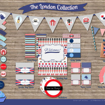 Chic London Themed Ultimate Party Kit