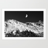 Yosemite Art Print by Claude Gariepy