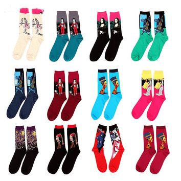 Men's Art Character Socks