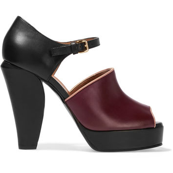 Leather Mary Jane sandals | Marni | UK | THE OUTNET