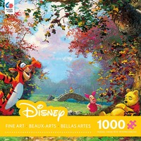 Disney Fine Art - Pooh's Afternoon Nap - 1000 Piece Jigsaw Puzzle