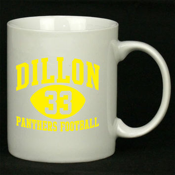 Dillon Panthers 33 blue For Ceramic Mugs Coffee *