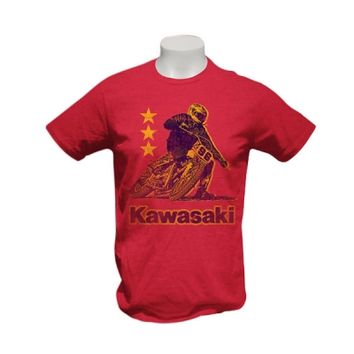 Kawasaki Motorcycle Step Brothers T-Shirt