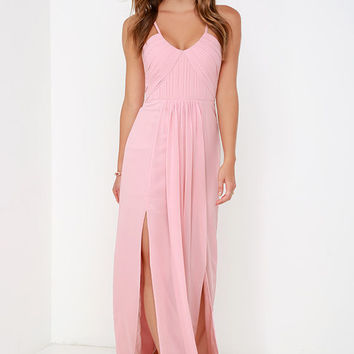 Bariano Test of Time Blush Pink Maxi from Lulu*s | prom