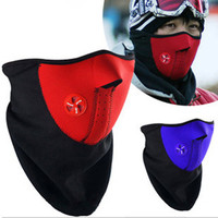 Fashion Winter Dust Face Mask Windproof Neck Guard Warm Face Mouth Mask for Men and Women Protection Bicycle/Snowboard 3 Colors