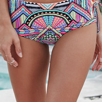 LA Hearts Lace-Up High Waisted Bikini Bottom at PacSun.com