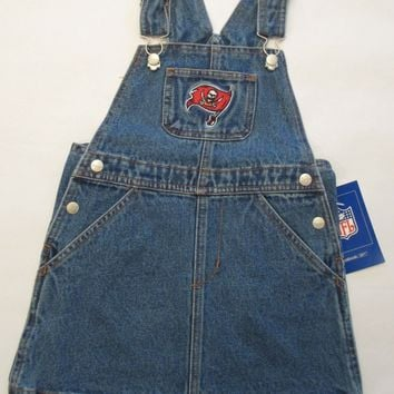 Tampa Bay Buccaneers Reebok Infant Jean Skirt Jumper Size 24 Months
