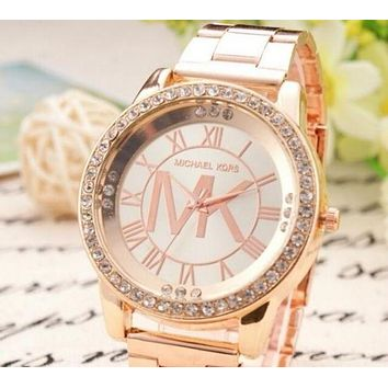 MICHAEL KOR WOMENS MENS ROSE GOLD WATCH MK WATCHES#3