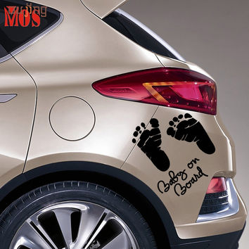 Baby On Board Vinyl Decal for Your Car