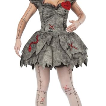 Sexy Voodoo Dolly Costume, Voodoo Doll, Sexy Voodoo Doll Costume