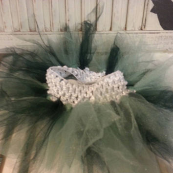 Tutu Green Baby Skirt Tutu Toddler Tutu Birthday
