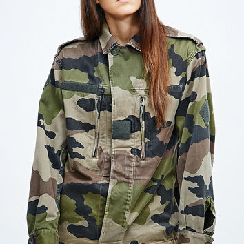 Urban Renewal Vintage Originals Army Jacket in Camo - Urban Outfitters