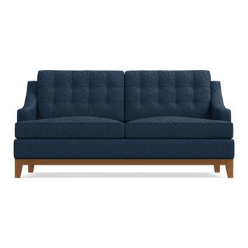 Bannister Twin Size Sleeper Sofa in BALTIC - CLEARANCE