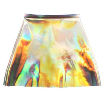 Hologram Pencil Skirt