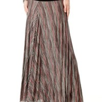 A Pea in the Pod: Under Belly Full Length Pleated Maternity Skirt $79.50