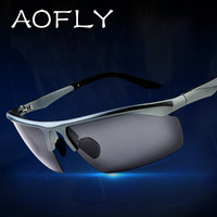 AOFLY Promotions New Fashion Sport sunglasses 100% Polarized Men Brand Driver Driving Sunglasses glasses gafas oculos de sol