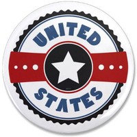 "United States 3.5"" Button> United States> Morningdance"