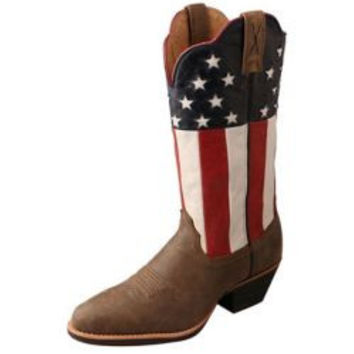 Twisted X Ladies VFW USA Western Boots