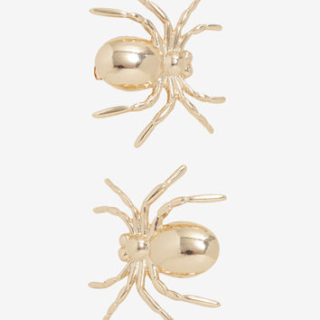 Blackheart Gold Spider Hair Clip Set
