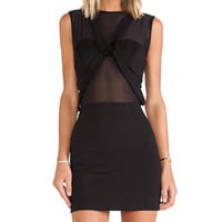 Maurie & Eve Any Minute Mini Dress in Black