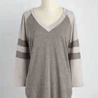 In All Its Sporty Top | Mod Retro Vintage Short Sleeve Shirts | ModCloth.com