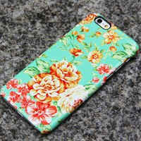 Vintage Flowers iPhone 6s Case | iPhone 6 plus Case | iPhone 5 Case | Galaxy Case 3D 019