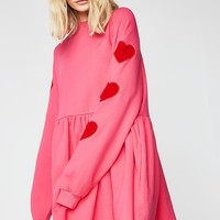 Velvet Heart Sweater Dress