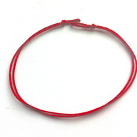 Red string anklet | Red kabbalah anklet| Red thread anklet | lucky protection anklet| String of fate | red string bracelet | Evil eye