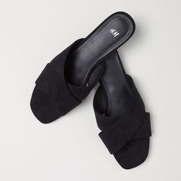 Sandals - Black - Ladies | H&M CA