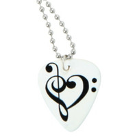 Music Is Life Pick Necklace