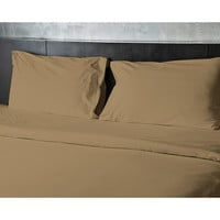 ComfortLiving Color 4-Piece Sheet Set Full - Gold