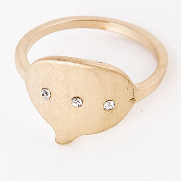 Chat Bubble Ring
