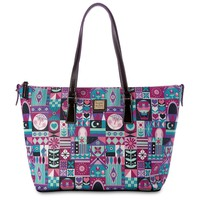 Disney It's a Small World Tote Shopper by Dooney & Bourke New
