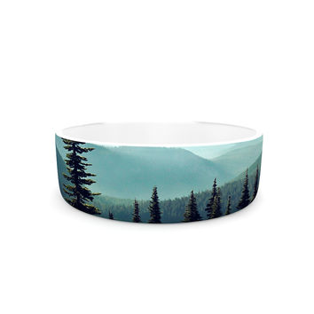 "Sylvia Cook ""Discover Your Northwest"" Landscape Pet Bowl"