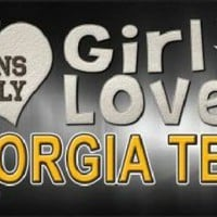 This Girl Loves Georgia Tech License Plate Tag