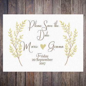 Save the date download, country save the date, Printable Save the date, rustic wedding suite,  sophisticated Wedding stationary, DIY Invite