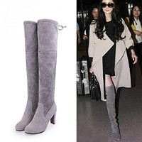 Over the knee high fashion Boots