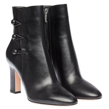 Gianvito Rossi Black Ankle Boots