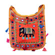 Jhola Bag With Elephant Patch Work