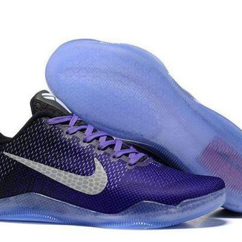 DCCKL8A Jacklish Nike Kobe 11 Elite Low Eulogy Hyper Grape/white-black-university Gold