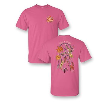 Sassy Frass Dare to Dream Dreamcatcher Fall Comfort Colors Girlie Bright T Shirt