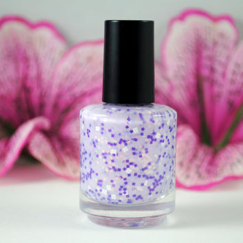 Purrr  Handmade nail polish Full bottle by Starrily on Etsy