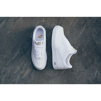 AA QIYIF Nike Air Force 1 '07 - White/Metallic Gold