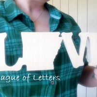 State Love Wooden Stand Up Letters Pick YOUR state!