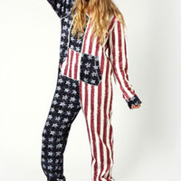 Liberty American Stars and Stripes Onesuit